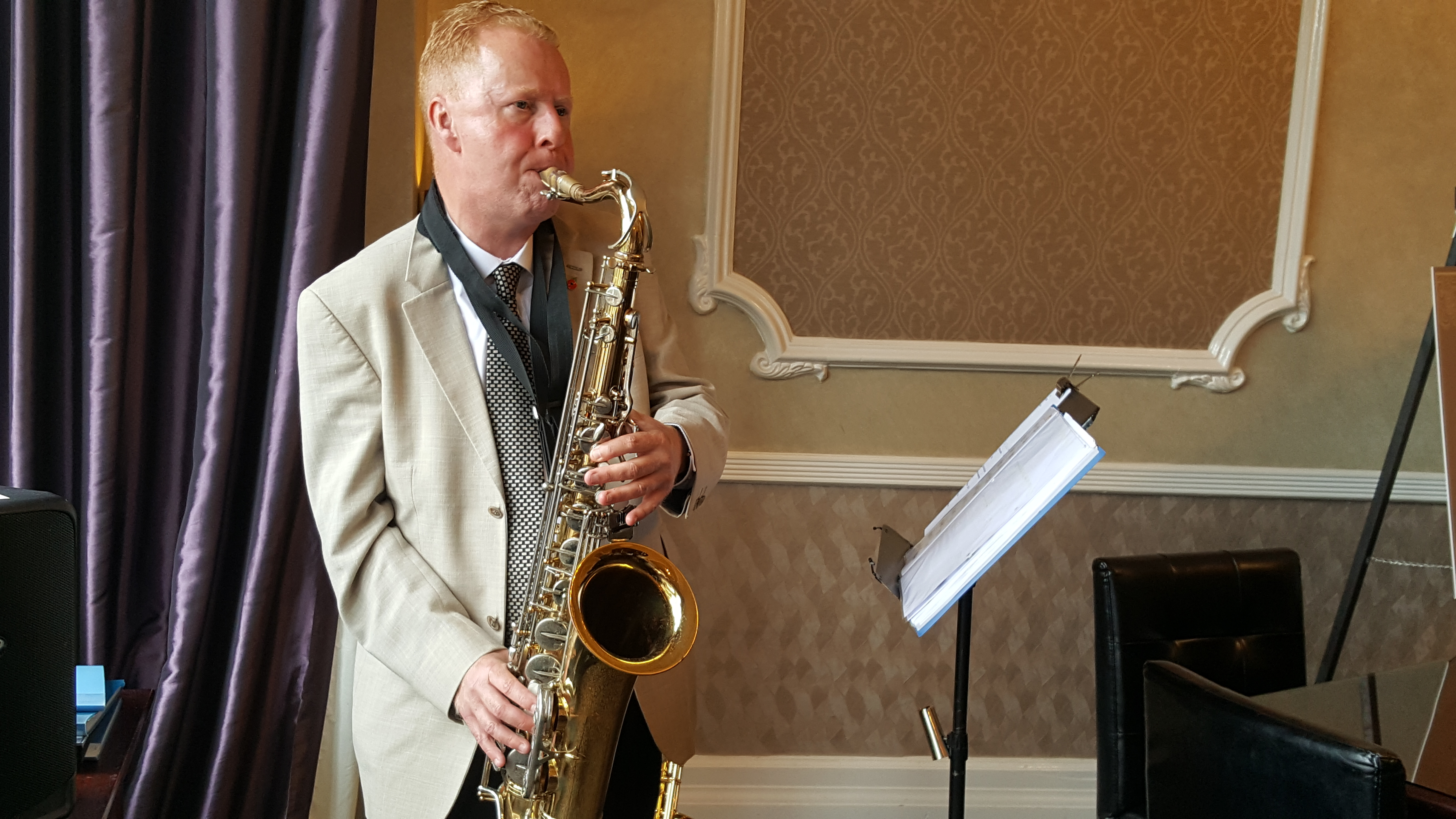 Tim Clarke - Wedding Saxophonist